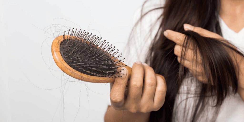photo brosse perte de cheveux