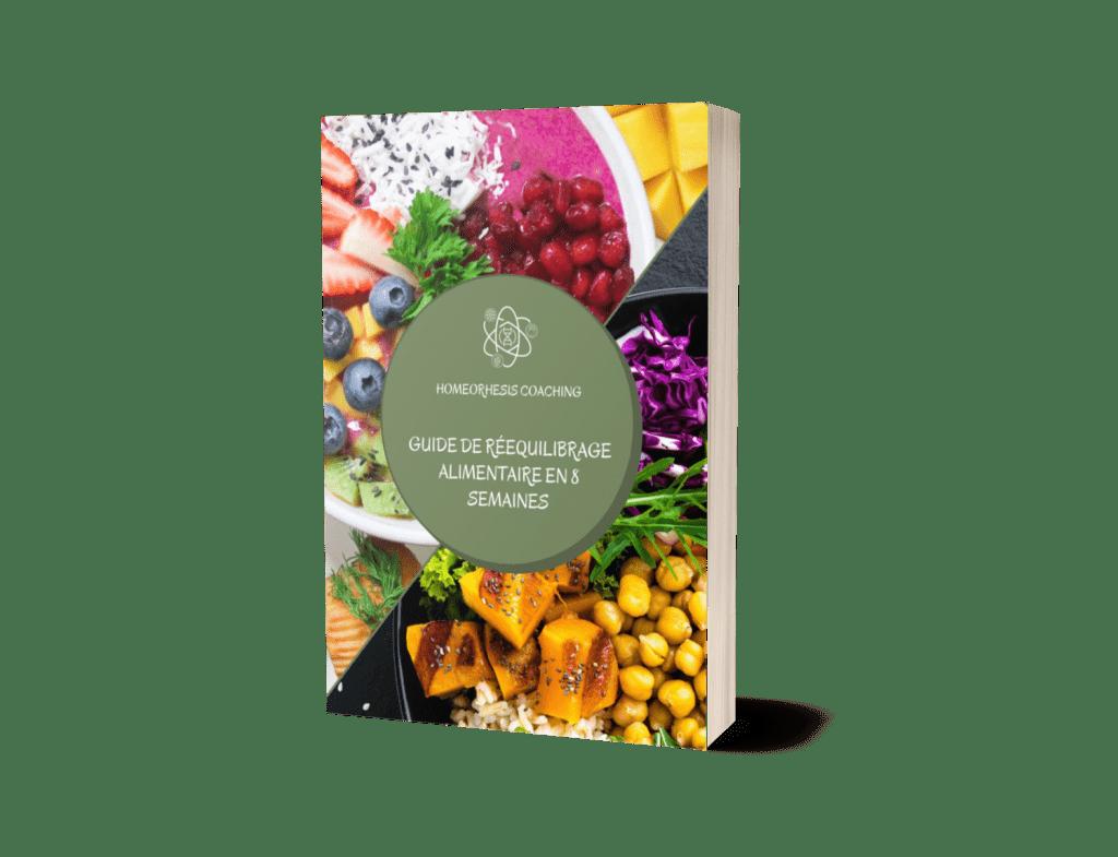 Guide de rééquilibrage alimentaire 3D